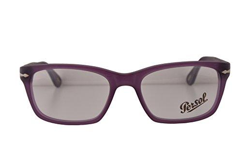 Persol PO3012V Eyeglasses 54-18-145 Matte Violet w/Demo Clear Lens 990 PO3012-V PO 3012-V PO 3012V (NO BOX & NO - Persol Po3007