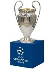 UEFA UEFA-CL-45-HP replica voor kampioenen, hout, uniseks, volwassenen, metaal, trofee 45 mm