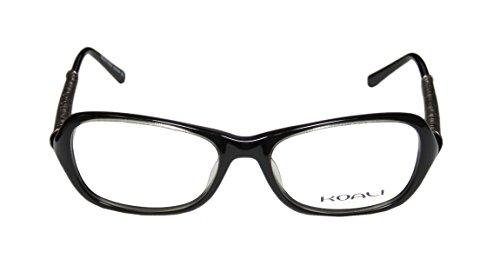 Koali 7068k WomensLadies Designer EyeglassesEye Glasses (52-17-135 Black  Silver)