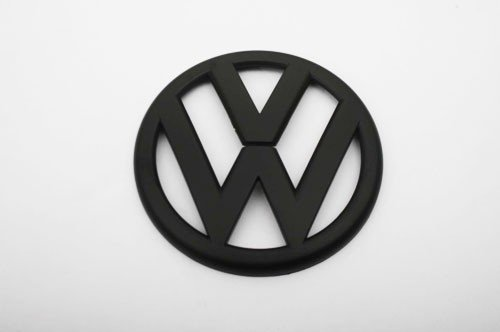 Euro Style Matte Black Rear Trunk Emblem For VW Golf MK6 1.4T 2.0T GTI TDI