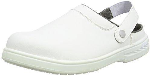 Portwest Mens Steelite SB AE WRU - Calzado de protección, color Negro, talla 48 Blanco