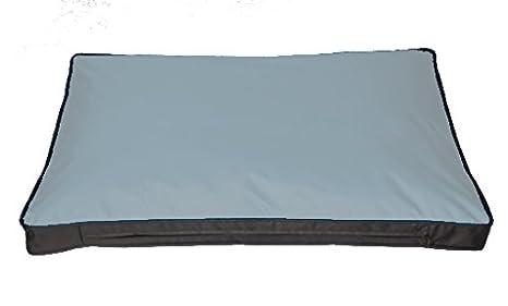 thésaurisation comme une denrée rare choisir l'original sur des pieds à Unbekannt Federa per cuscino per Outdoor di cani cuscino 120 x 80 cm,  Grigio (senza imbottitura)