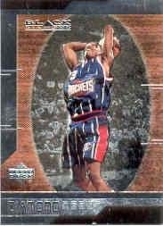 1999 Black Diamond Basketball Rookie Card 1999-00 #92 Steve Francis