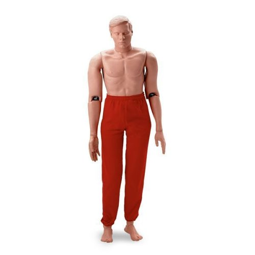 Simulaids Rescue Randy Combat Challenge Manikin (165 lbs Weighted) - 1435