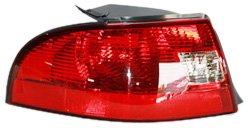 (TYC 11-5888-01 Mercury Sable Driver Side Replacement Tail Light Assembly)