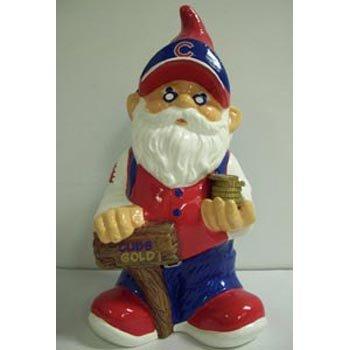 MLB Chicago Cubs Team Gnome Bank