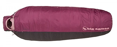 Big Agnes Lulu 15 Degree Petite Sleeping (Core Rectangular Sleeping Bag)