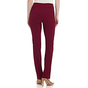 c397e50e2eb Rekucci Women s Ease In To Comfort Straight Leg Pant With Tummy Control
