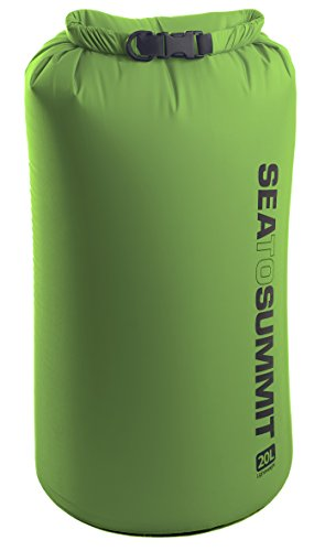 Sea to Summit Lightweight Dry Sack,Green,X-Large-20-Liter - Sea Sack