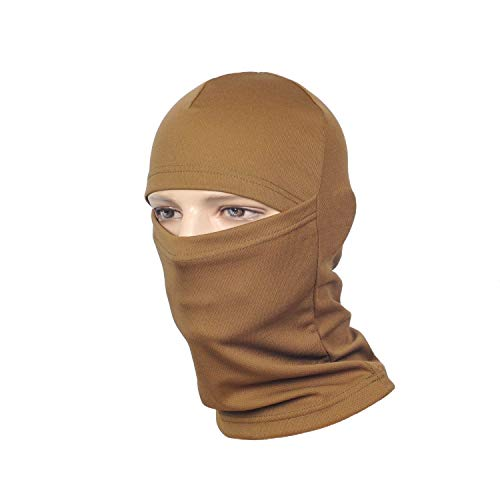 M-Tac Ski Face Mask Mens Military and Tactical Motorcycle Balaclava (Coyote Brown)