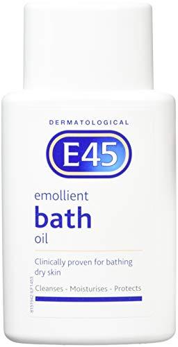 6 x E45 Dermatological Emollient Bath Oil ()