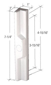 White sliding glass door pull with 3 1516 and 4 1516 screw holes white sliding glass door pull with 3 1516quot and 4 15 planetlyrics Image collections
