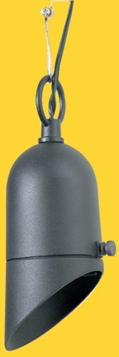 Corona CL-379-BK -Low Voltage/ 12V Hanging Light Aluminum Mini Bullet, Black