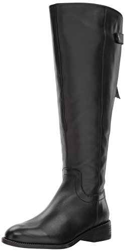Franco Sarto Women's Brindley Wide Calf Boot, Black, 8 M US by Franco Sarto (Image #1)