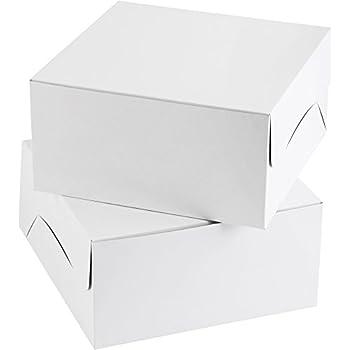 Wilton Plain White Cake Box Multipack, 12 in. 12 in. x 6 in. (2-Pack)