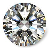 Moissanite DF Colorless Simulated Diamond Loose Stone by Van Rorsi&Mo, Round Brilliant Cut Excellent Cut VVS Clarity by Swhitee (Image #7)