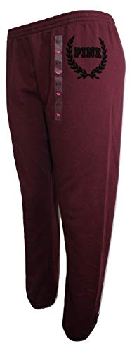 Victoria's Secret Pink Skinny Pant Color Maroon Large NWT