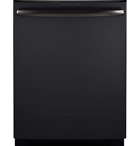 """GE Profile Series 24"""" Top Control Tall Tub Built-In Dishwasher Black Slate PDT845SFLDS"""