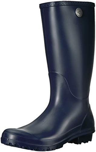UGG Women's Shelby Matte Rain Boot Navy 10 M US