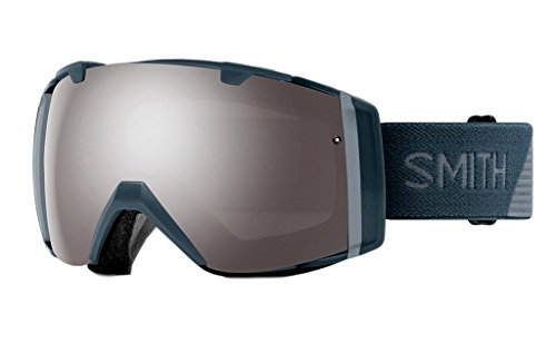 Smith Optics Adult I/O Snow Goggles Thunder Split / ChromaPop Sun Platinum Mirror by Smith Optics