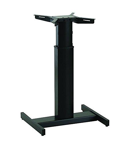 Ergobasis elektrisches Tischgestell Inno-Serie 9 Center inkl. Rollen und Akku, schwarz