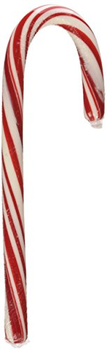 Brach's the Original Bob's Naturally Flavored Peppermint Red & White Candy Canes (Box of 48)