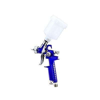 Mini HVLP Gravity Feed Air Spray Gun Kit Auto Car Detail Touch Up Paint Sprayer Spot Repair