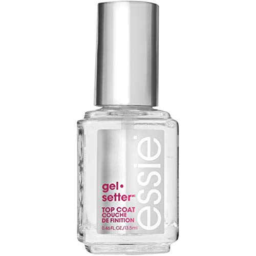 essie gel-setter top coat 0.46 fluid ounces gel nail polish-style top coat from Essie