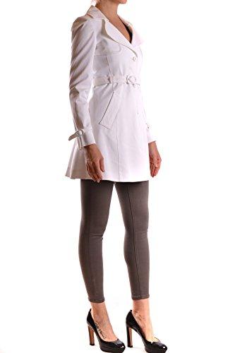Pinko Trench Algodon Blanco MCBI242032O Mujer Coat 6O8xqgHwvO