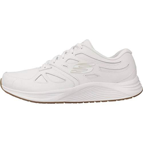 Mujer white Zapatillas Blanco Para Wht transient Skyline Skechers qnRpxzwCOI