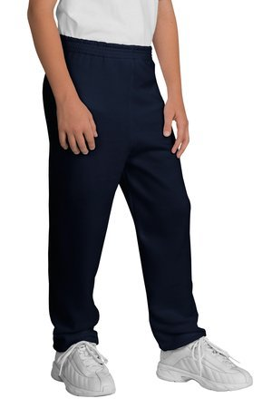 Port & Company - Youth Sweatpant, PC90YP, Navy, ()