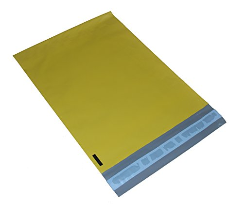 Hot 100 7.5x10.5 Yellow Poly Mailers Envelopes Shipping Bags hot sale