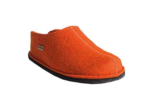 Mixte Mules Haflinger Chaussons Adulte Flair Smily Orange rost 243 4wqOxSIn