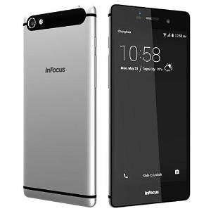 InFocus M808i - Mysterious Silver, 16 GB (4G Volte) Smartphones at amazon