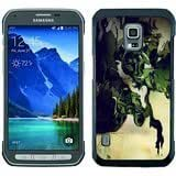Metal Gear Solid Stealth Action Sony Playstation Black Samsung Galaxy S5 Active Shell Phone Case,Beautiful Look