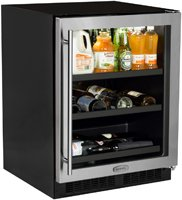 AGA Marvel ML24BCG1RS Beverage Center with Door Right Side Hinge, 24'', Stainless Steel by AGA Marvel