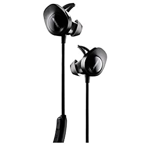 Bose SoundSport Wireless, Sweat Resistant, In-Ear Headphones, Black