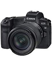 Canon EOS R met lens RF 24-105mm F4-7.1 IS STM