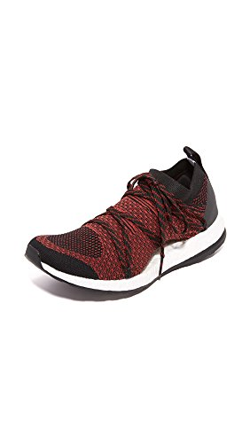 adidas by Stella McCartney Women's Pureboost X Sneakers, Orange/Black/Nomad Red, 8.5 B(M) US