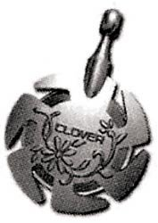 Bulk Buy Clover Pendant Antique