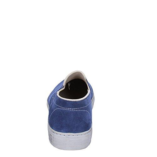 On Slip by Gamuza CORAF Hombre Azul KEP'S 45 Mocasines EU qtIRwp