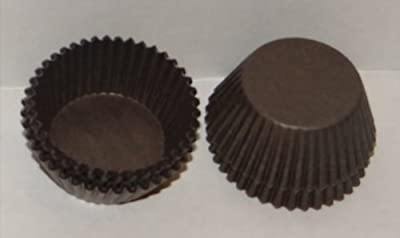 #5 Brown Paper Candy Cup Cups 250 Pack Candy Making Supplies