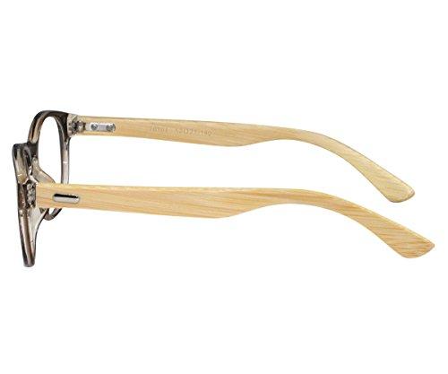 Ebe Bifocal Men Women Reading Glasses Vintage John Lennon Flex Fit +2.00