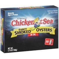 Chicken of the Sea Fancy Smoked Oysters in Oil (Case of 18) by Chicken of the ()