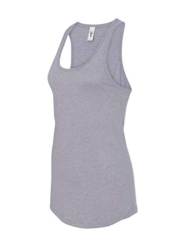 Next Level Women's Apparel Ideal Quality Tear-Away Tank Top_Heather Gray_Large