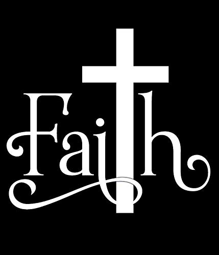 CCI Faith Cross Christian Decal Vinyl Sticker|Cars Trucks