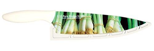 Kai USA Pure Komachi 2 AB9067 HD Photo Chef's Knife, 8-Inch, Green (Kershaw Steak Kitchen Knives)