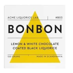 Teministeriet AC-B03 - Liquoria con revestimiento de chocolate de limón y blanco, multicolor: Amazon.es: Hogar