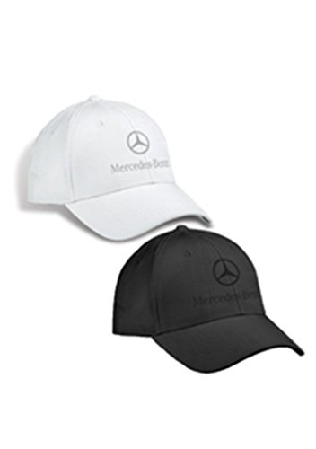 genuine-mercedes-benz-plaid-patterned-structured-baseball-cap-hat-white
