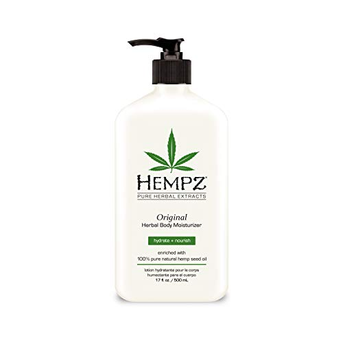 Hempz Original Herbal Body Moisturizer 17.0 oz (Best Tanning Bed To Get Dark Fast)